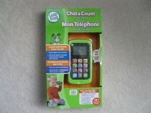 Leap Frog Chat & Count Smart Phone (Brand New In Box)
