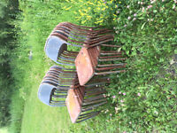 17 Old Hall Chairs
