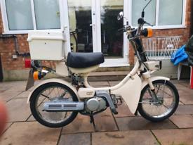 Yamaha qt50 moped