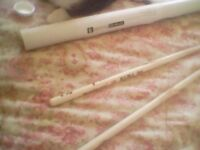 signed Marianas trench drumsticks