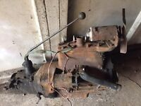 FORD POPULAR 1956 ENGINE, DRIVESHAFT & TYRES