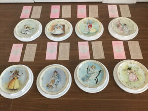 PLATE COLLECTION-LITTLE LADIES