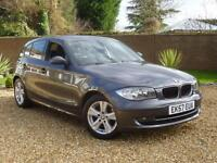 2007 57, BMW 118 2.0TD d SE 5 DOOR Hatchback ++ 6 SPEED + P/SENSORS + CRUISE