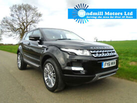 LAND ROVER RANGE ROVER EVOQUE 2.2 SD4 PRESTIGE AUTOMATIC AWD 5DR- ONE OWNER