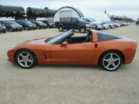 2008 Chevrolet Corvette Nav Removable Roof 6.2L Coupe