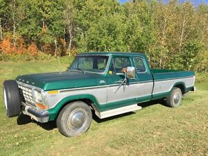 1978 Ford F-350 Ranger Lariat Camper Special - Rust Free!