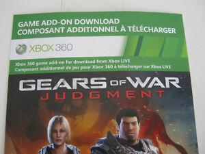 Xbox 360 Gears of War Judgment Downloadable Content Edmonton Edmonton Area image 3