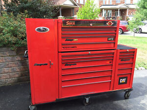 Snap-On tool box red