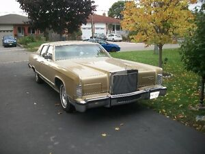 1979 mint Lincoln Continental
