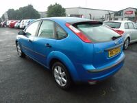 2006 BLUE FORD FOCUS SPORT FOR SPARES PARTS