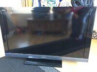 Sony Bravia 40 inch tv with remote