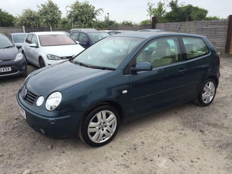 volkswagen polo 2002 1.4 my sport fully loaded electric heated