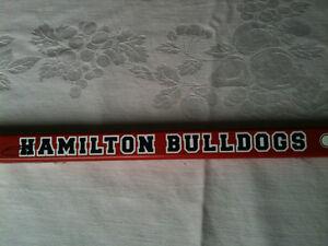 2001 Hamilton Bulldogs Hockey Stick Kitchener / Waterloo Kitchener Area image 2