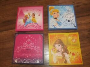 Disney Princess Canvases