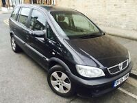 2005 vauxhall zafira automatic 7 seater SPARES OR REPAIR VERY SMOKY BUT RUNS