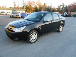 2009 FORD FOCUS 4 DOOR SEL SEDAN ONE YEAR WARRANTY INCLUDED