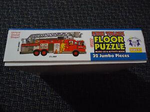 LARGE 3.5 FEET long***FIRE TRUCK****FLOOR Puzzle Kingston Kingston Area image 9