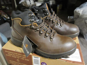 Prospector Boots - Leather, Waterproof, 9, 10, New, in Box, -$49
