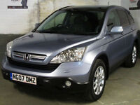2007 HONDA CR-V 2.2i-CTDi EXECUTIVE DIESEL ESTATE AWD 4x4 * SAT.NAV * Rev.Cam *