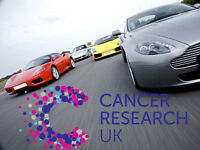 2017 Supercar Driving Experience Day - Raffle for Cancer Research UK