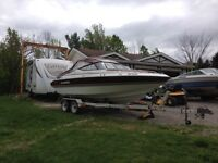 Sunray 20' bowrider with trailer