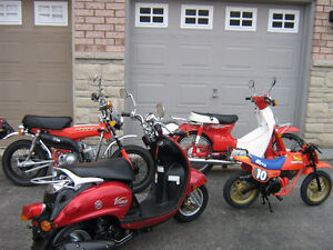 Vintage HONDA CLASSIC BIKE COLLECTION ALL MINT