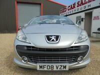 2008 08 PEUGEOT 207 1.6 GT COUPE CABRIOLET HDI 2D 108 BHP DIESEL