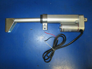 "LINEAR ACTUATORS 4"" TRAVEL 12 VOLT 225 LB CAPACITY BRAND NEW"