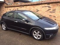 * 2008 HONDA CIVIC DIESEL CDTI FULL MOT SPORT (golf audi type r)