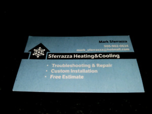 Ac a/c air conditioning furnace fix repair install heating