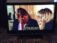 """Sony Bravia 40"""" hd lcd TV with built in freeview. 3 hdmi. Not samsung"""