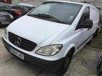 Mercedes-Benz Vito van diesel 6 speed manual, 54 Reg, tailgate , twin side load