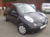 2007 Nissan Micra 1.2 16v Initia+low miles+insurance