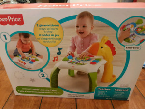Brand new Fisher Price Learning Table