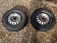 "Renault trafic/Vauxhall vivaro wheels and tyres 16"""