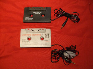 Radio Shack cassette adapters