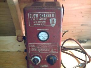 Antique battery charger