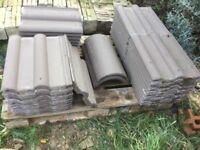 Sandhurst double roman tiles roof tiles
