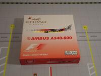 ETHIAD AIRWAYS A340-642X ABU DHABI / L'ORIGINAL 2009 A6-EHJ