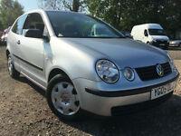 2005 05 Volkswagen Polo 1.2 ( 55bhp ) E **38K MILES**