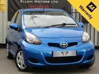 Toyota AYGO VVT-I BLUE 1.0L 5 Door Manual Petrol 2010