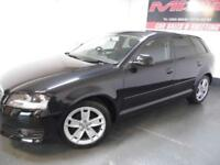 Audi A3 1.9TDIe Sportback 2009 Sport FSH Fantastic Condition £30 Tax