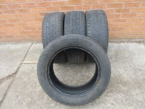 4 Continental ContiPro Contact 225/55R17