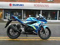 Suzuki GSX-R125 Moto GP 6.9% finance and PCP