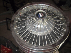 Buick Wire Wheel Covers.