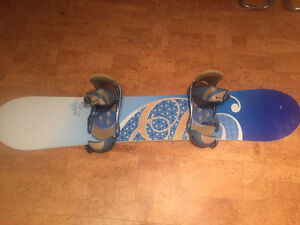 Women's Snowboard, Bindings, Boots & Bag