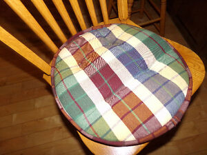 3 Cushioned Stool Covers