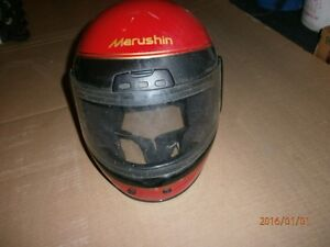 VINTAGE 1985 MARUSHIN MOTORCYCLE HELMUT SNELL VT -911 London Ontario image 2