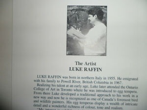 Luke Raffin Prints.  $100 each.  Both for $150. Framed 5X7 print Prince George British Columbia image 2