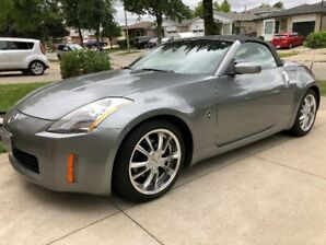 Mint Nissan 350Z Convertible Roadster For Sale.